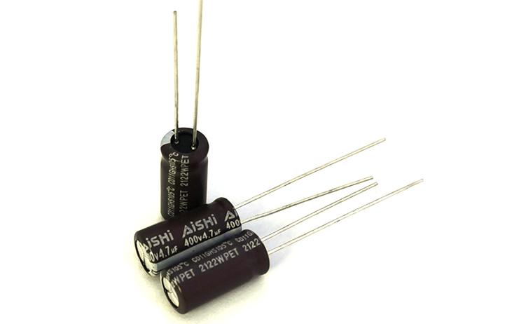 艾华电解电容器CD11GHS系列AISHI品牌长寿命电解电容规